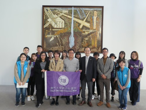 Exchange in Japan by representatives of the Housing Association of the Cheng Yu Tung College (CYTC)